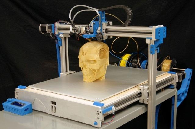 интересный 3д принтер